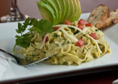 Nationally Renowned Avocado Pasta